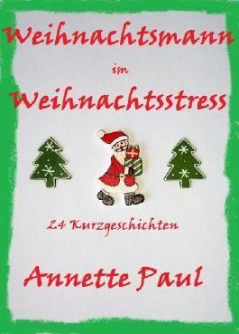 Weihnachtsmann im Weihnachtsstress