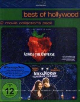 Across The Universe / Nick & Norah - Soundtrack einer Nacht, 2 Blu-rays
