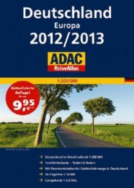 ADAC ReiseAtlas Deutschland, Europa 2012/2013