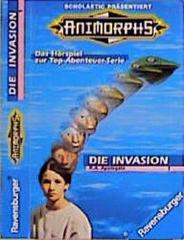 Animorphs, Cassetten, Tl.1, Die Invasion, 1 Cassette
