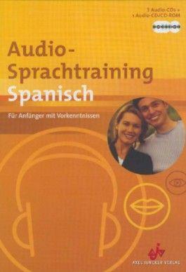 Audio-Sprachtraining Spanisch, 3 Audio-CDs + 1 Audio-CD/CD-ROM