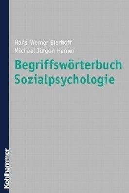 Begriffswörterbuch Sozialpsychologie