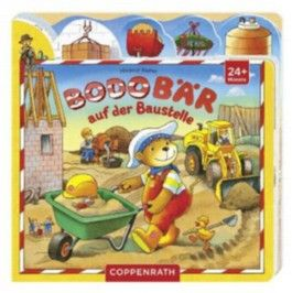 Bodo Bär auf der Baustelle