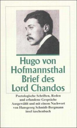 Brief des Lord Chandos