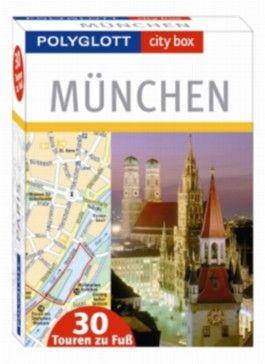 city box München - Box mit 30 Tourenkarten und Beiheft