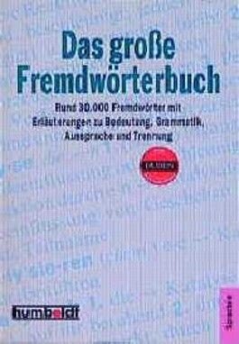 Das große Fremdwörterbuch