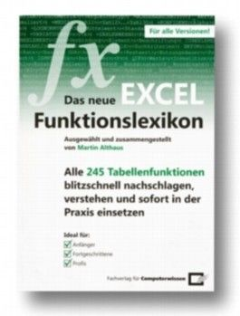 Das neue Excel-Funktionslexikon