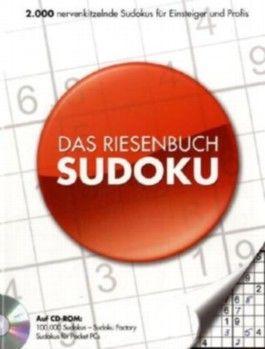 Das Riesenbuch Sudoku, CD-ROM u. Buch
