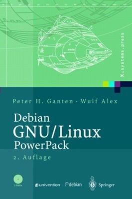 Debian GNU / Linux Power Pack mit 2 DVDs