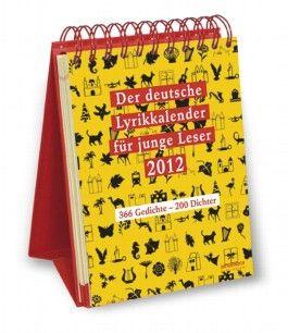 Der deutsche Lyrikkalender für junge Leser 2012