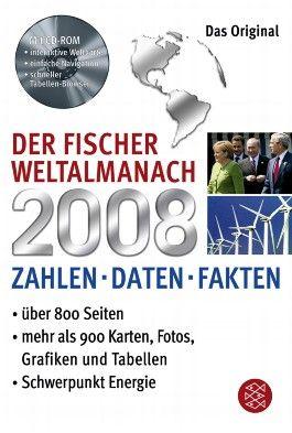 Der Fischer Weltalmanach 2008 mit CD-ROM
