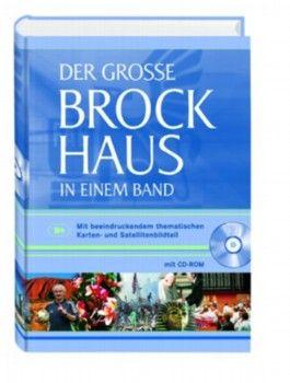 Der große Brockhaus in einem Band, m. CD-ROM