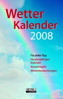 Der Wetterkalender 2008
