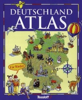 Deutschland-Atlas für Kinder