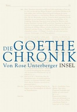 Die Goethe-Chronik