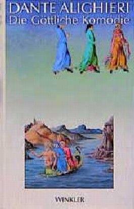 Die Göttliche Komödie, mit Illuminierungen aus dem Codex Urbinate Latino 365. Übertragen von Wilhelm G. Hertz, Nachwort von Hans Rheinfelder, Anmerkungen von Peter Amelung.
