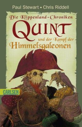 Die Klippenland-Chroniken, Band 9: Quint und der Kampf der Himmelsgaleonen