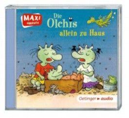 Die Olchis allein zu Haus und zwei Geschichten von Katharina Vöhringer und Ulrike Rogler (CD)