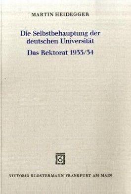Die Selbstbehauptung der deutschen Universität