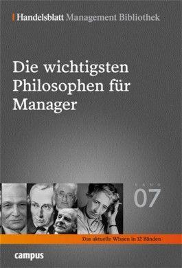 Die wichtigsten Philosophen für Manager
