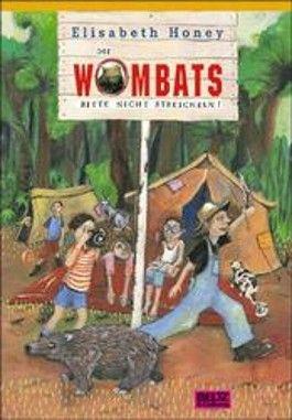 Die Wombats bitte nicht streicheln!
