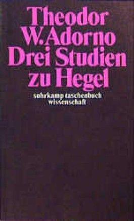 Drei Studien zu Hegel