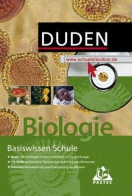 Duden Basiswissen Schule, m. CD-ROM, Biologie
