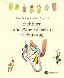Eichhorn und Ameise feiern Geburtstag
