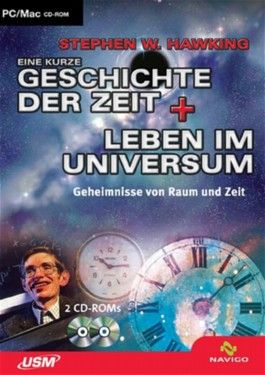 Eine kurze Geschichte der Zeit + Leben im Universum, 2 CD-ROMs