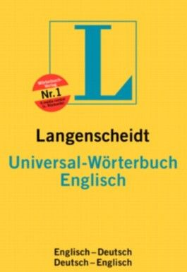 Englisch. Universal-Wörterbuch. Langenscheidt (Langenscheidt Universal-Wörterbücher)