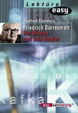 Friedrich Dürrenmatt, Der Richter und sein Henker