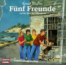 Fünf Freunde auf der Spur der Silberdiebe, 1 Audio-CD
