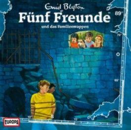 Fünf Freunde und das Familienwappen, 1 Audio-CD