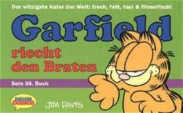 Garfield riecht den Braten