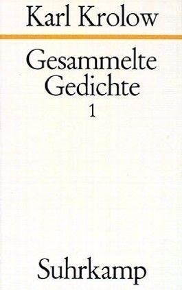 Gesammelte Gedichte, 4 Bde.