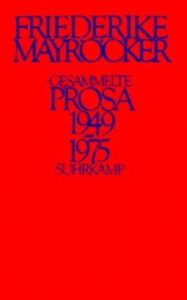 Gesammelte Prosa 1949-1975