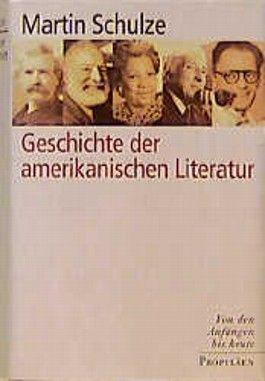 Geschichte der amerikanischen Literatur