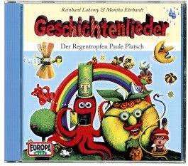 Geschichtenlieder - Der Regentropfen Paule Platsch