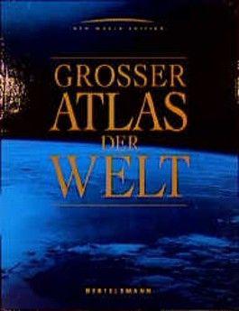 Grosser Atlas der Welt (Bertelsmann/ RV)