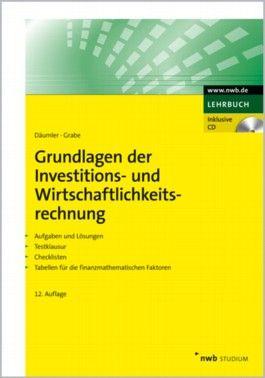 Grundlagen der Investitions- und Wirtschaftlichkeitsrechnung