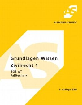 Grundlagen Wissen - Zivilrecht 1