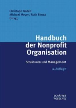 Handbuch der Nonprofit Organisation