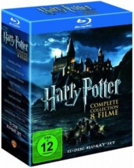 Harry Potter: The Complete Collection - Jahre 1 - 7, 11 Blu-rays