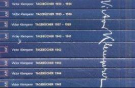 Ich will Zeugnis ablegen bis zum letzten. Tagebücher 1933 - 1945.: 8 Bde.
