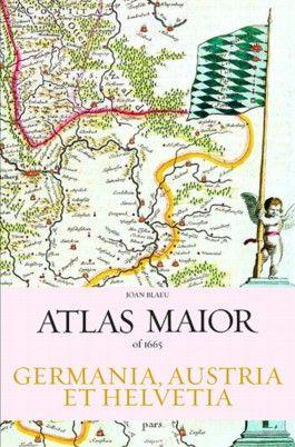 Joan Blaeu Atlas Maior 1665 Germania, Austria Et Helvetia