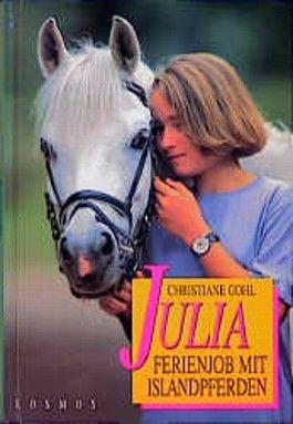 Julia - Ferienjob mit Islandpferden