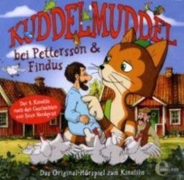 Kuddelmuddel bei Pettersson & Findus, 1 Audio-CD