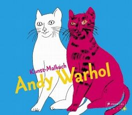 Kunst-Malbuch Andy Warhol