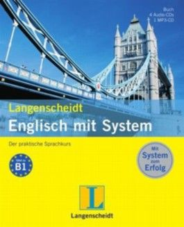 Langenscheidt Englisch mit System - Set mit Buch, 4 Audio-CDs und 1 MP3-CD