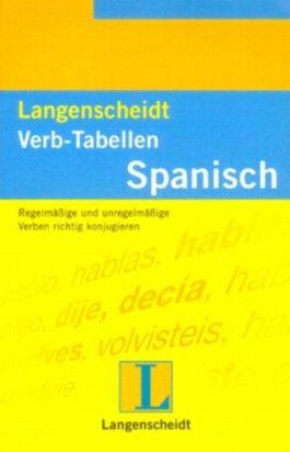 Langenscheidts Verb-Tabellen, Spanisch